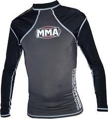 Рашгард Power System 010 Combat S Серый MMA-010SGrey-Black, КОД: 1139171