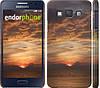 """Чехол на Samsung Galaxy A3 A300H Закат """"2922c-72"""""""