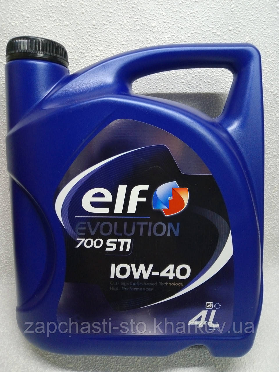 Полусинтетика ELF Evol 700 STI 10W40 4л моторное масло