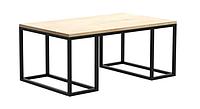 Кофейный журнальный столик в стиле Loft GS-320