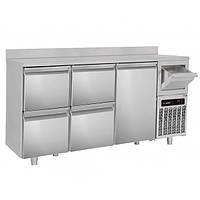Холодильный стол барный - 2,1 x 0,6 м