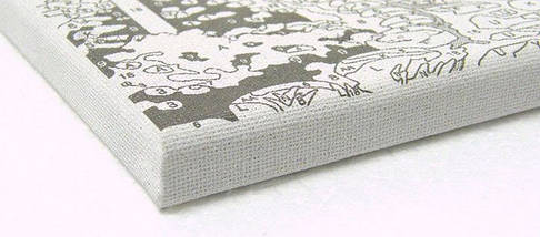 Набор-раскраска по номерам Панда с бамбуком Худ Лаура Марк-Файнберг, фото 3