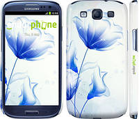 "Чохол на Samsung Galaxy S3 i9300 Квітка синій ""2384c-11"""