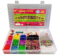 Набор для плетения из резинок для изготовления браслетов с крючком (5000 штук)