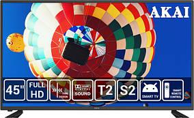 Телевизор Akai UA45IA124S+Бесплатная доставка!
