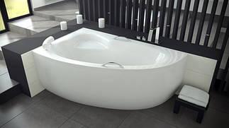 Асимметричные акриловые ванны BESCO PMD PIRAMIDA