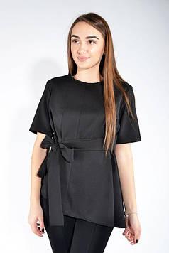 Блуза женская  цвет Черный размер 36