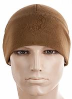 Зимняя тактическая шапка из плотного флиса Windblock (295 г/м2) цвет койот (40012017), фото 1