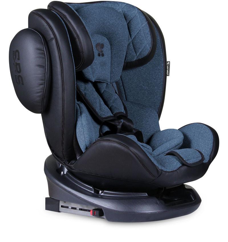 Детское автокресло Lorelli Aviator + sps + isofix (0-36 кг) синие
