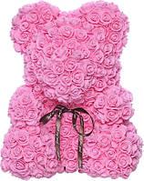 Bear Flowers Supretto Мишка из роз Розовый (5528-0001)