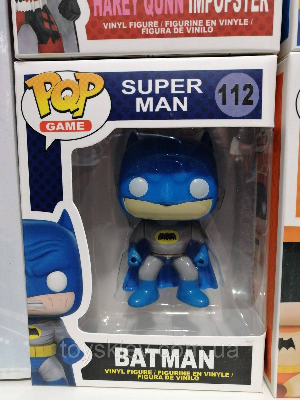 Фигурка Funko Pop Фанко Поп из серии Супер мен, Super Man, Бетмен, Batman (аналог)