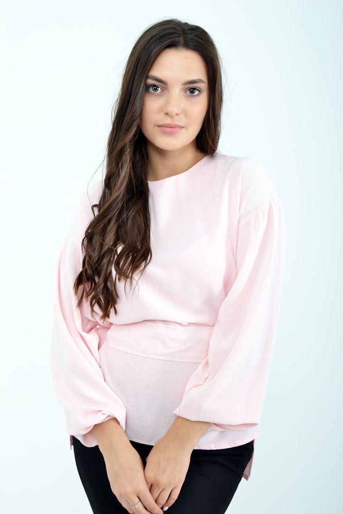 Блуза женская цвет Розовый размер 36