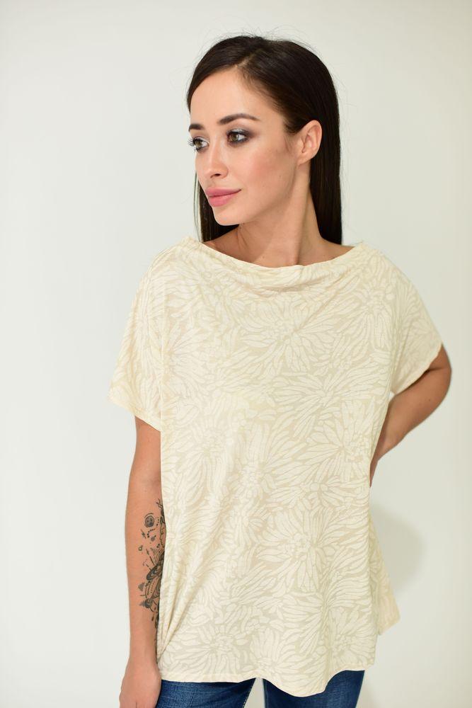 Блуза женская цвет Песочный размер S