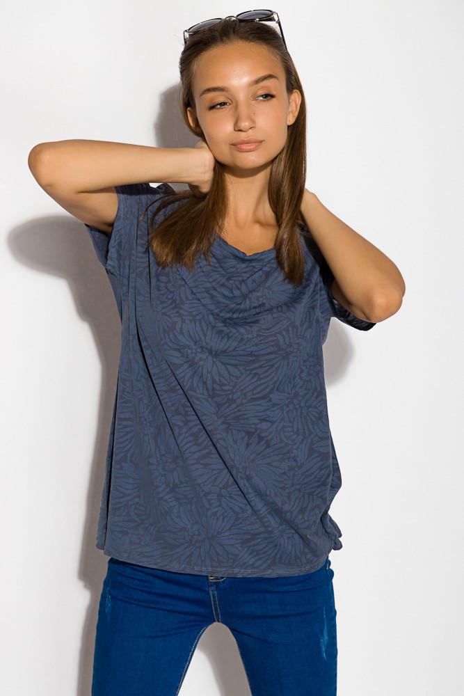 Блуза женская цвет Сине-сизый