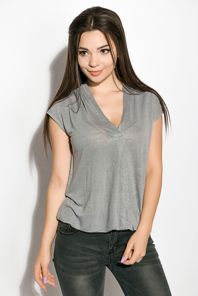Блуза женская цвет Сизый