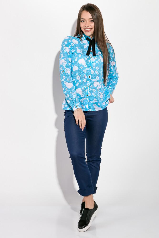Блузка женская цвет Голубой