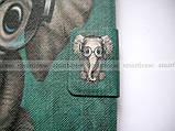 Зеленый чехол со слоником для Huawei Mediapad T3 10 (9.6) AGS-L09 AGS-W09, фото 5