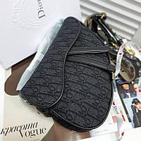 Женская сумка Dior Saddle (реплика), фото 1