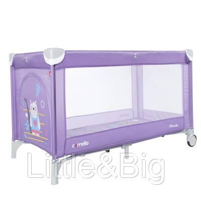 Манеж CARRELLO Piccolo CRL-9203/1 Orchid Purple