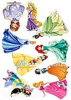 Вафельная картинка Диснеевские принцессы 4