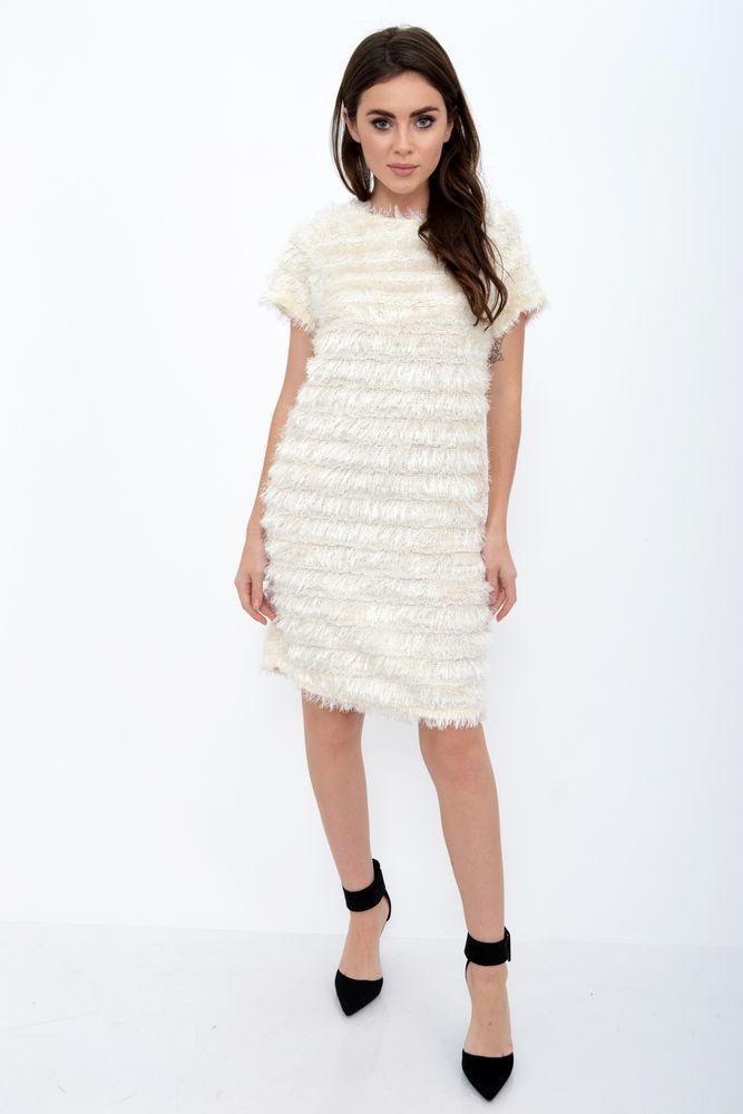 Платье женское цвет Молочный