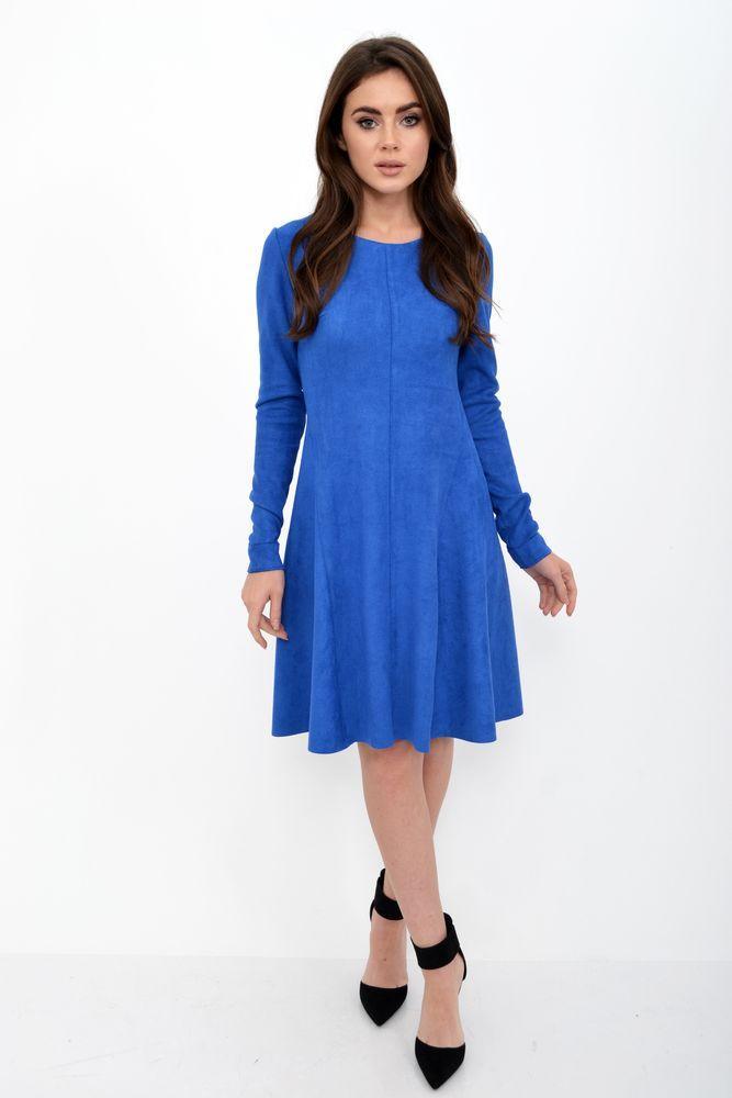 Платье женское цвет Электрик