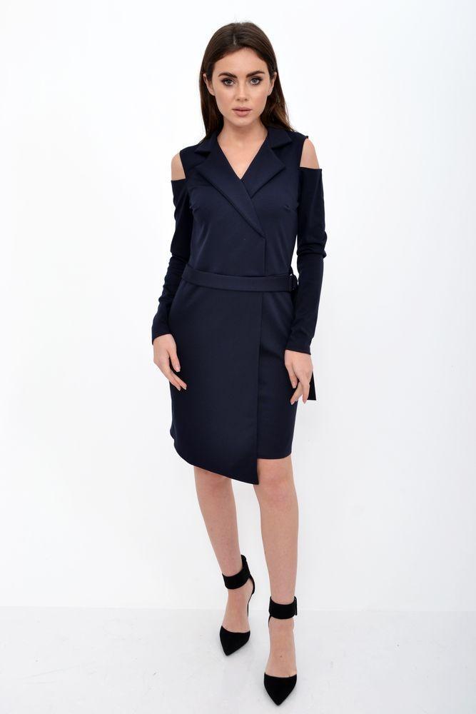 Платье женское цвет Темно-синий