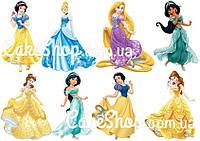 Вафельная картинка Диснеевские принцессы 6
