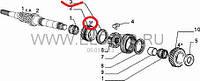 Сихронизатор 3-4 передачи 1.2-1.9D -1.9JTD -1.9MJTD Doblo 46767057