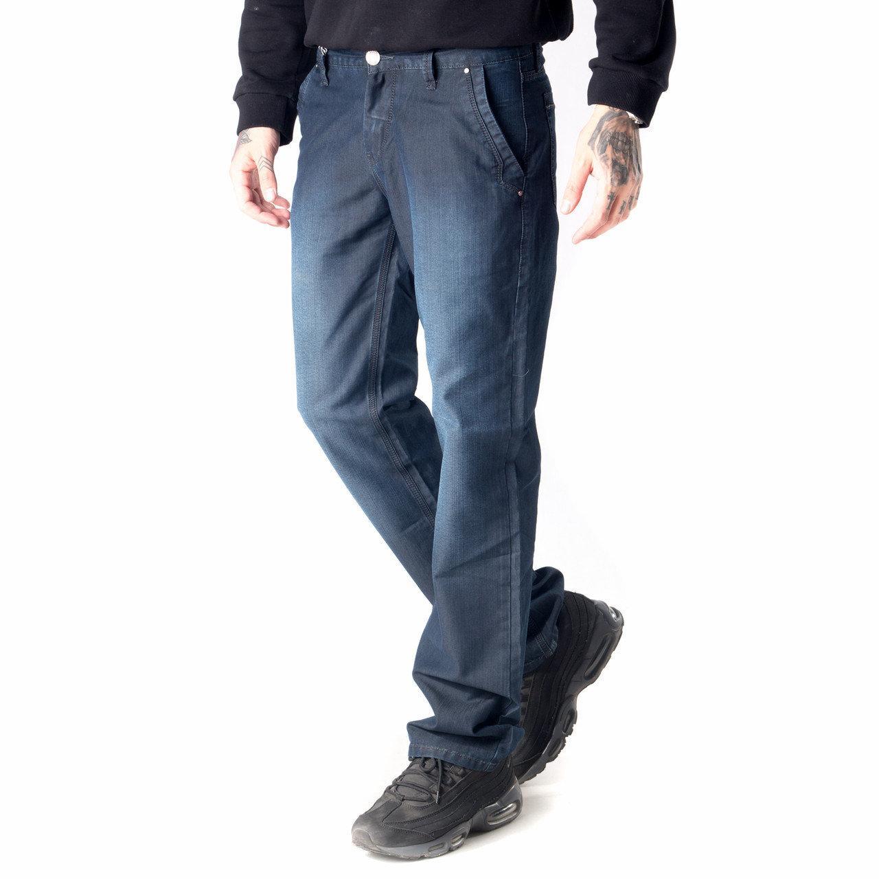 Джинсы Franco Benussi 3533 с косыми карманами синие