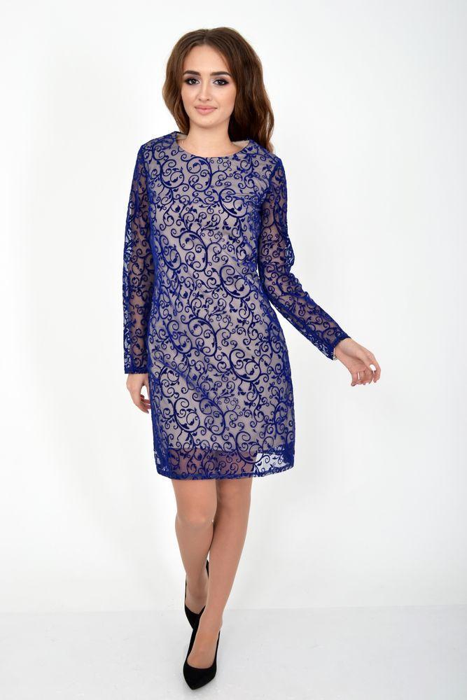 Платье цвет Синий