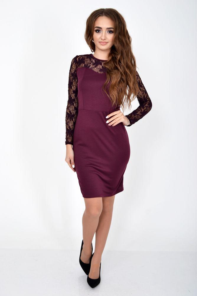 Платье женское цвет Сливовый размер S