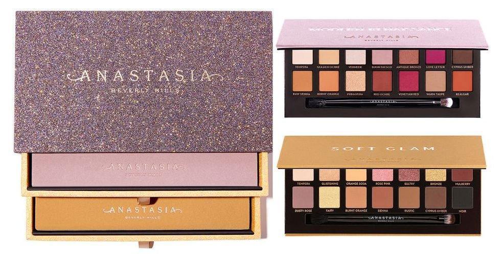 Набор Anastasia Beverly Hills Soft Glam и Modern Renaissance Palette