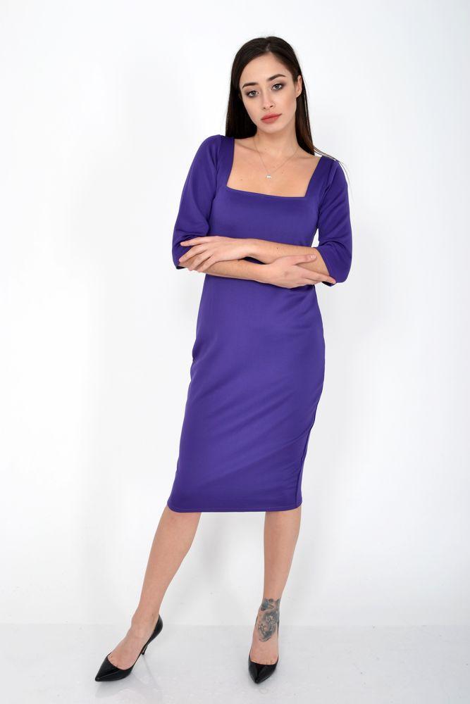 Платье женское цвет Фиолетовый размер S-M