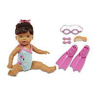 Zapf Інтерактивна лялька Baby Born Mommy Look I Can Swim Мама дивись я вмію плавати брюнетка B07615MRLS-916137