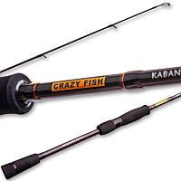 """Спиннинг Crazy Fish Kaban KB692M-T (8-24g 209cm 6'9"""" 10-17lb)"""