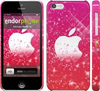 """Чехол на iPhone 5c pink apple """"1620c-23"""""""