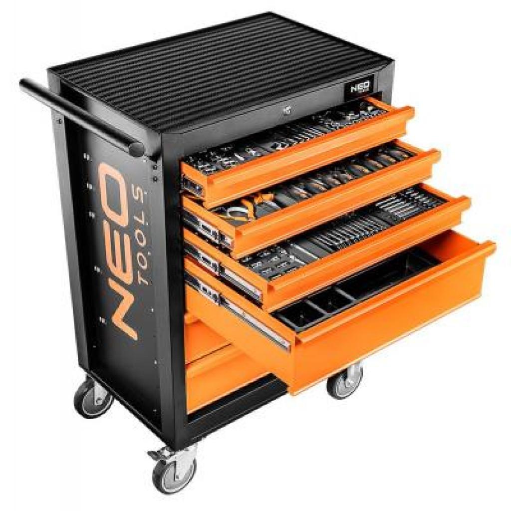 Тележка для инструмента Neo Tools 6 ящиков, 680 x 460 x 1030 мм, грузоподъемность 280 кг (84-221)