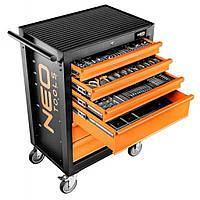 Тележка для инструмента Neo Tools 6 ящиков, 680 x 460 x 1030 мм, грузоподъемность 280 кг (84-221), фото 1