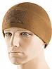 Зимова тактична шапка із щільного флісу з липучкою колір койот (40017017)