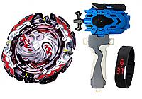 Бейблейд Beyblade b-131 Dead Phoenix с запуском В 119 + ручка + ЛЕД Часики (ueBR65222)