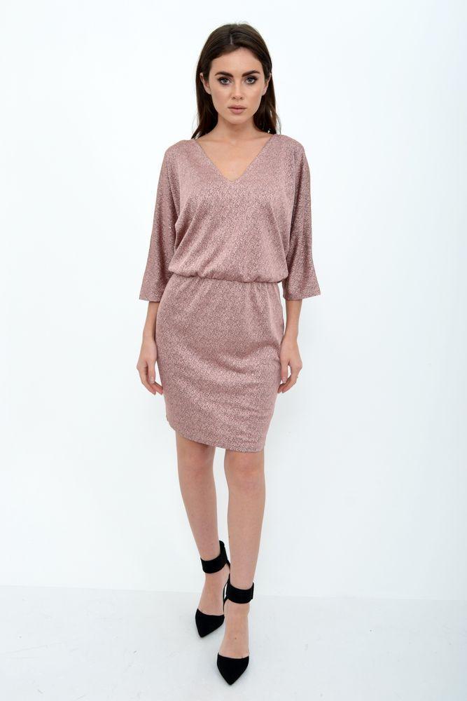 Платье женское цвет Пудровый