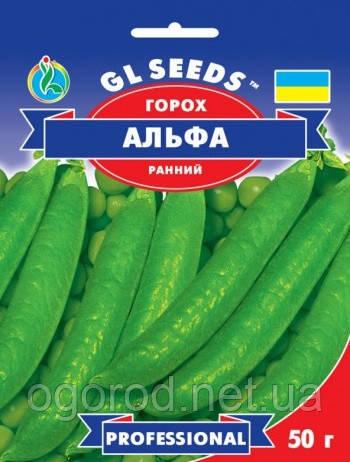 Семена гороха Альфа 50 грамм GL Seeds