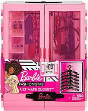 Игровой набор Барби Мода розовый Шкаф