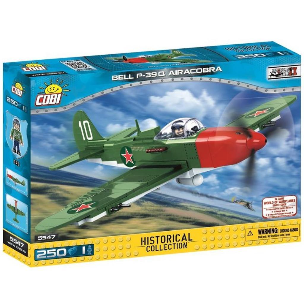 Конструктор Cobi Самолет BELL P-39Q Аэрокобра 250 деталей (5902251055479)