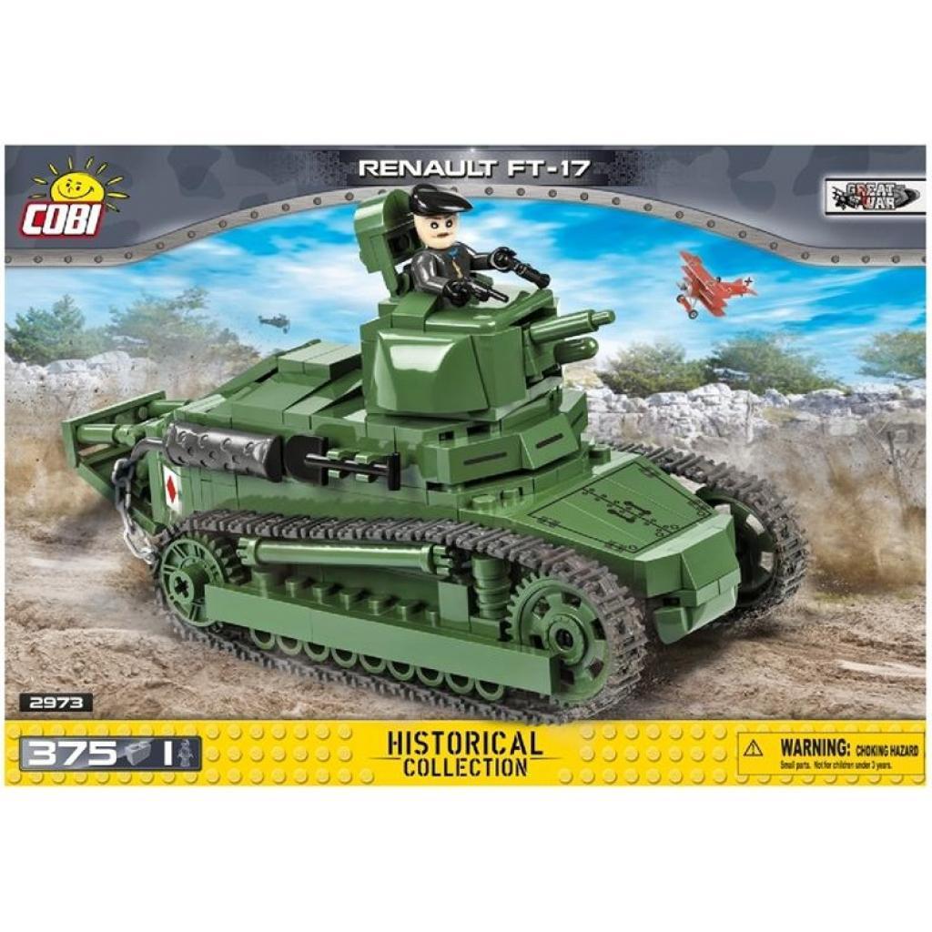 Конструктор Cobi Танк Рено ФТ-17 375 деталей (5902251029739)