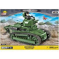 Конструктор Cobi Танк Рено ФТ-17 375 деталей (5902251029739), фото 1
