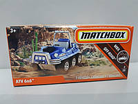 Машинка Matchbox ATV 6x6 Матчбокс Автомобиль 1:64