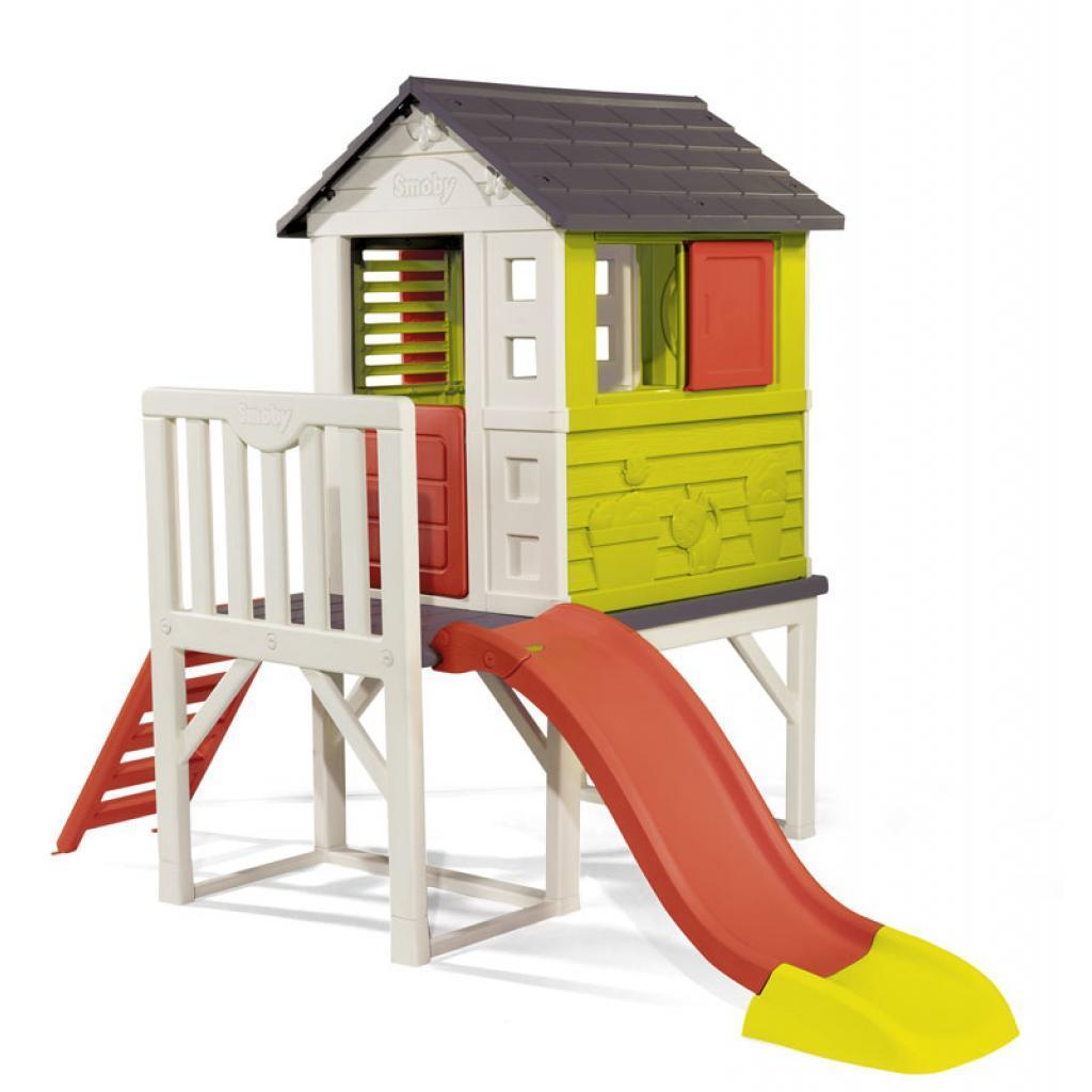 Игровой домик Smoby Домик на опорах Летний отдых (810800)