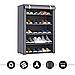 Стеллаж для хранения обуви Combination Shoe Frame 60X30X90  5 полок 3490VJ, фото 3
